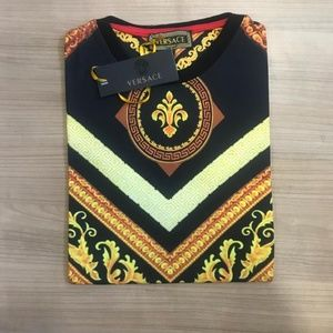 Versace Shirts - VERSACE MEN COTTON T-SHIRT